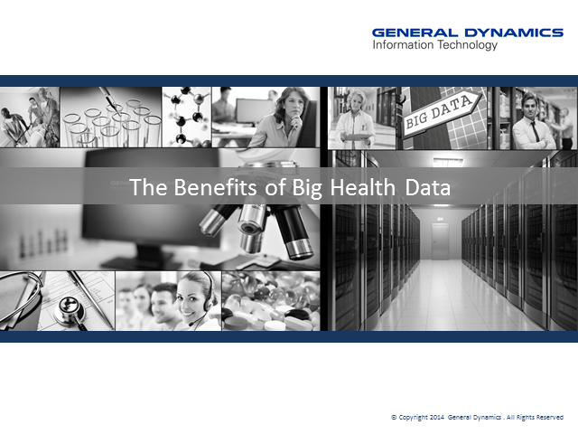 The Benefits of Big Health Data
