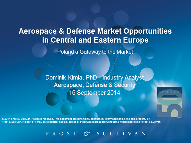 Aerospace & Defense Market Opportunities in Central and Eastern Europe