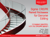 Sigma CRISPR Paired Nickases for Genome Editing Session 1