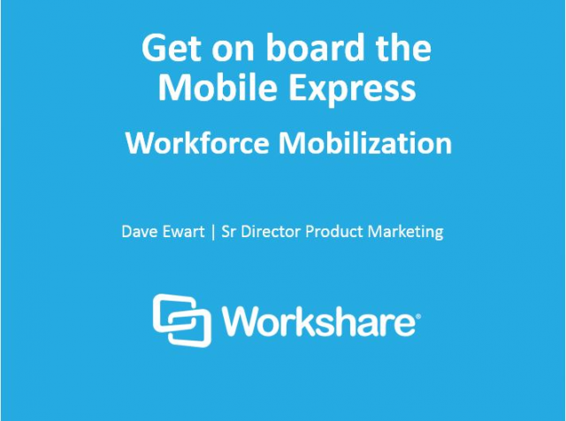 Get on board the Mobile Express