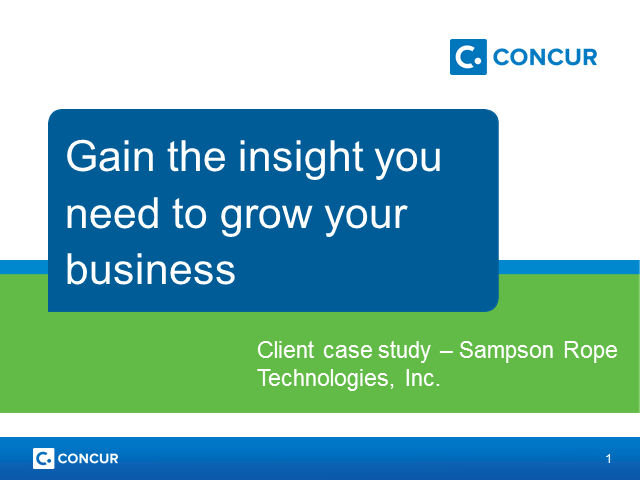 Gain the insight you need to grow your business