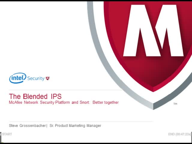 McAfee Network Security Platform and Snort: Better together.
