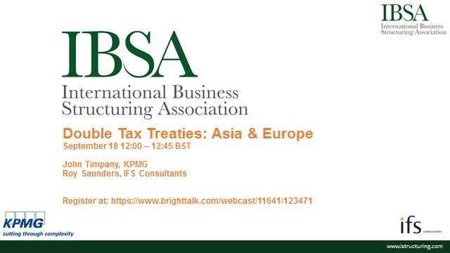 Double Tax Treaties: Limitation of Benefits