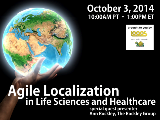 Agile Localization in Life Sciences and Healthcare