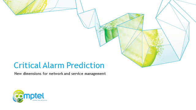 Critical Alarm Prediction - Predictive is the new proactive!