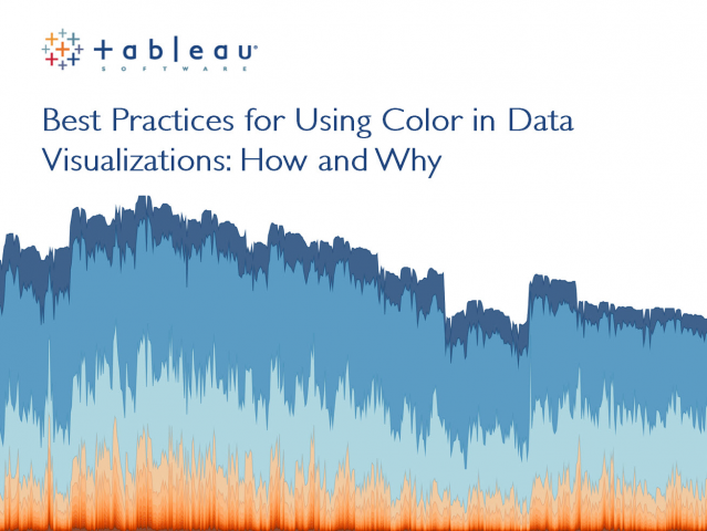 Best Practices for Using Color in Data Visualizations: How and Why