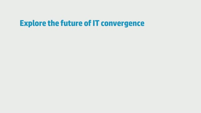 Explore the future of IT convergence