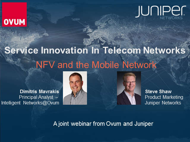 NFV and the Mobile Network – Driving Value with Service Agility