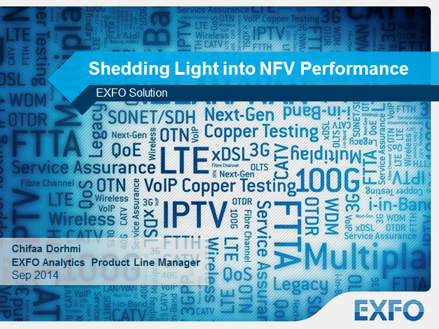 Shedding light into NFV performance