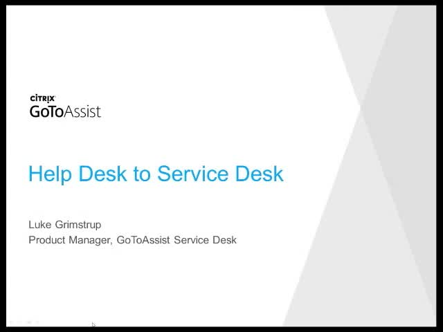 How to grow your help desk into a service desk