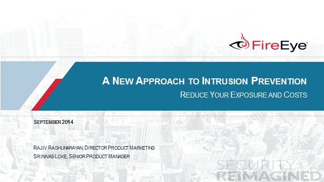 A New Approach to IPS – Reduce Your Exposure and Costs