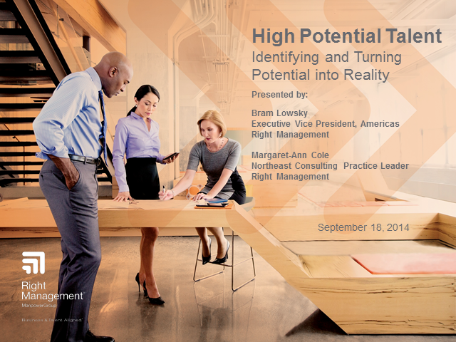 High Potential Talent: Identifying and Turning Potential into Reality