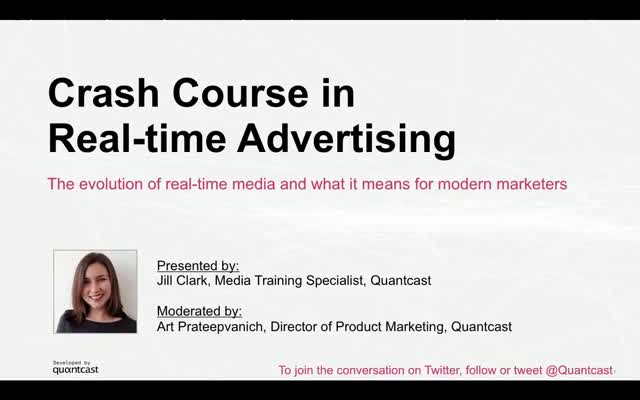 Crash Course in Real-time Advertising