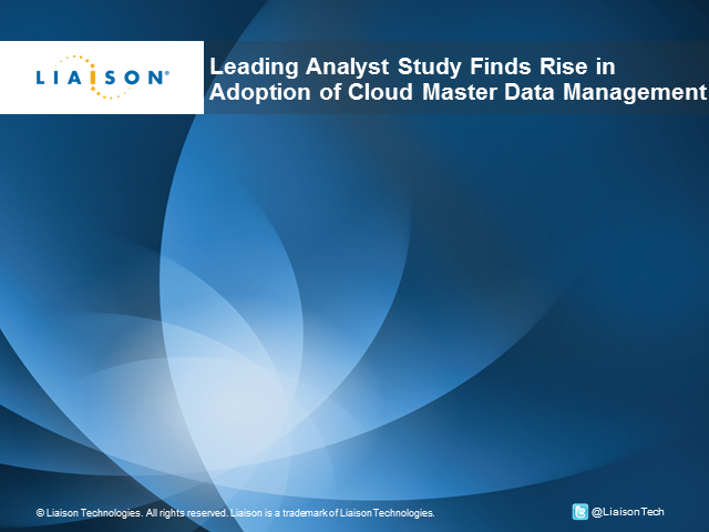 The Rise in Adoption of Cloud Master Data Management: Leading Analyst Study
