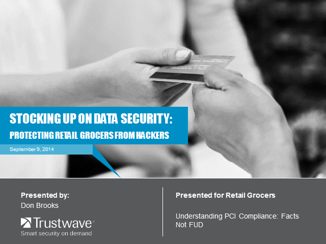 Stocking up on Data Security: Protecting Retail Grocers from Hackers