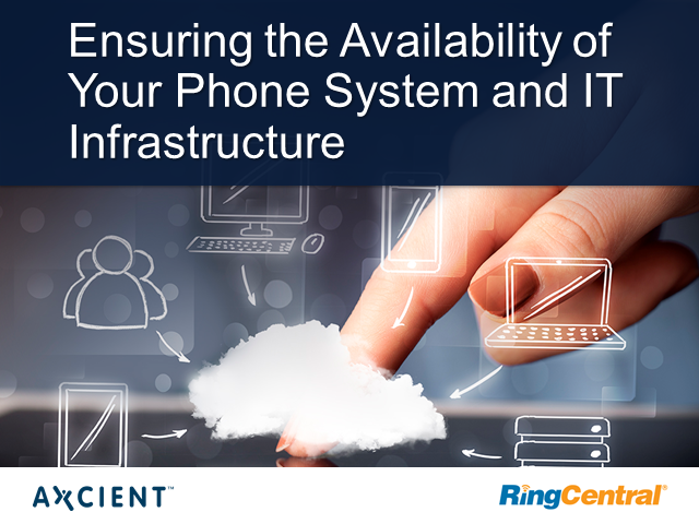 Ensuring the Availability of Your Phone System and IT Infrastructure