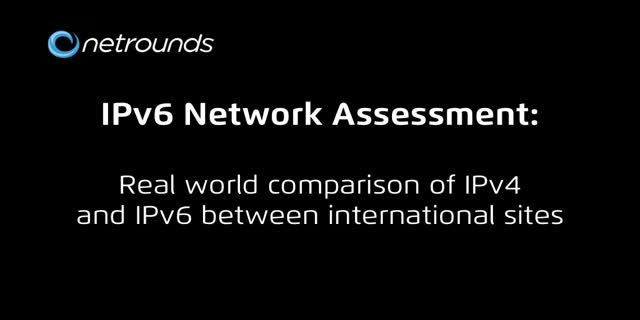 IPv6 Network Assessment