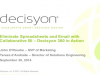 Eliminate Spreadsheets and Email with Collaborative BI – Decisyon 360 in Action