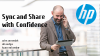 Sync and share your data with confidence