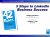 5 Steps to LinkedIn Business Success
