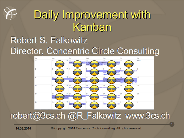 Daily Improvement with Kanban