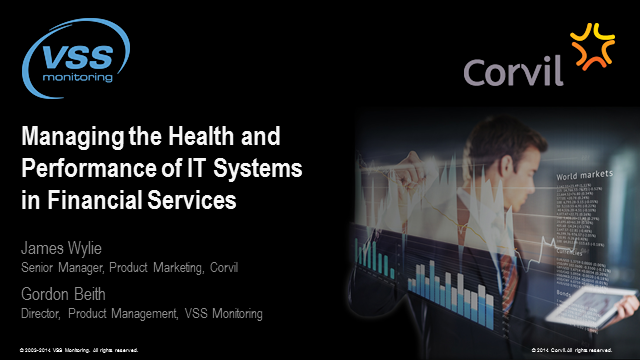 Managing the Health and Performance of IT Systems in Financial Services