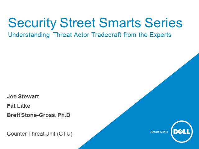 Security Street Smarts Series