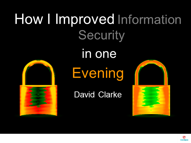 How I Improved Information Security in One Evening