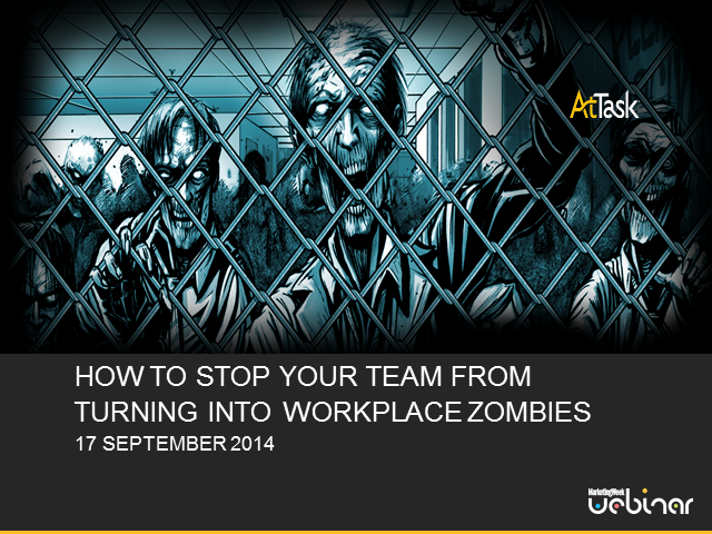 How to stop your team turning into workplace zombies