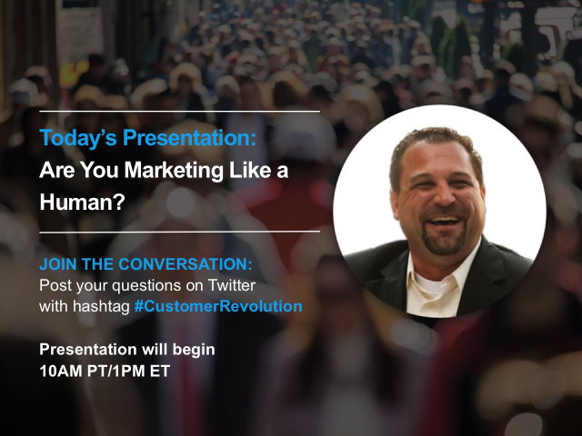 Are you marketing like a human?