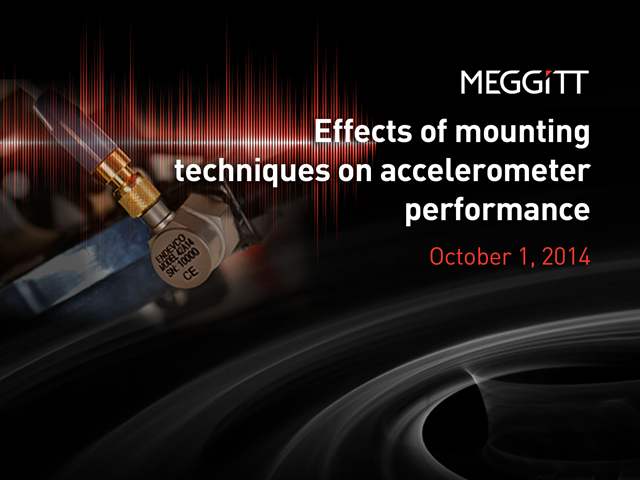 Effects of Mounting Techniques on Accelerometer Performance