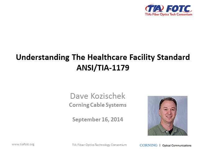 Understanding the Healthcare Facility Standard ANSI/TIA-1179