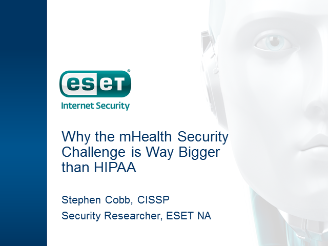 Why the mHealth Security Challenge is Way Bigger than HIPAA