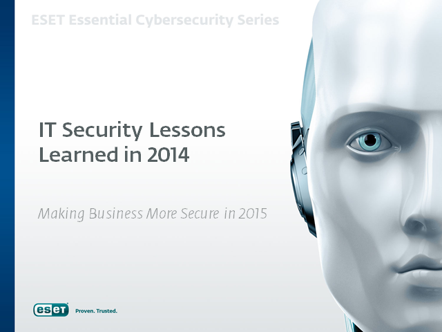 Make 2015 More Secure: Lessons from 2014