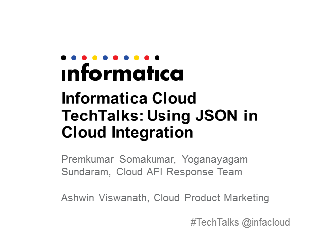 Using JSON in Cloud Integration