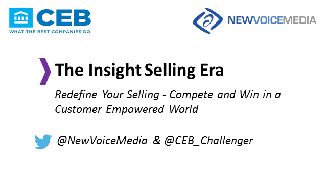 Redefine Your Selling: Compete and Win in a Customer Empowered World