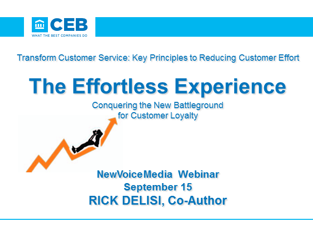 Transform Customer Service: Key Principles to Reducing Customer Effort