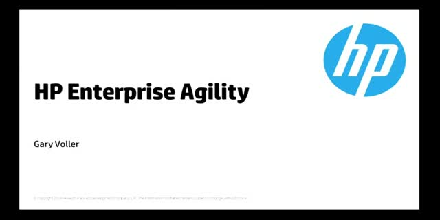 Live Demo - Learn the secrets of Enterprise Agile Software delivery