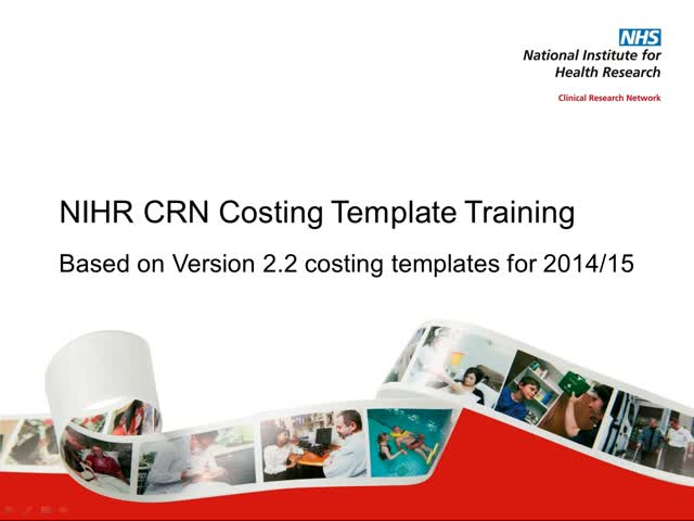 Costing template completion training v2.2