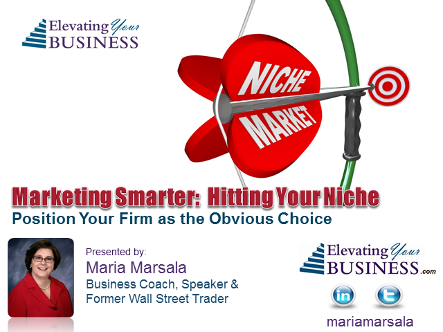 Marketing Smarter: Hitting Your Niche