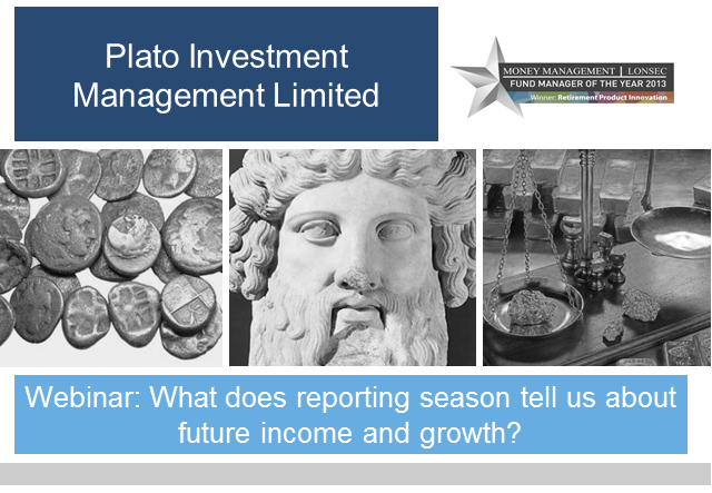 What does reporting season tell us about future income and growth?