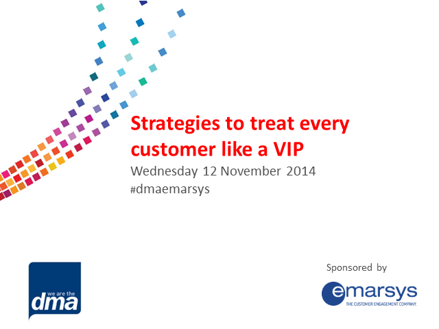 Strategies to treat every customer like a VIP