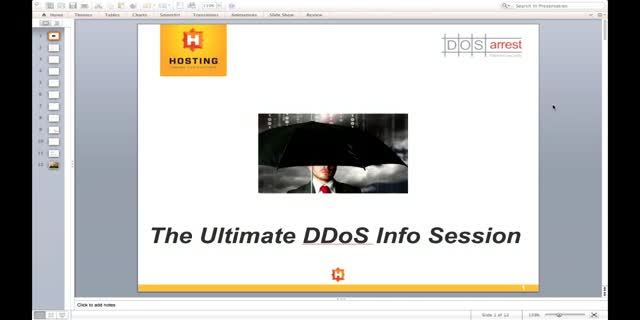 The Ultimate DDoS Info Session