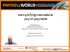International payroll payments, a guide to understanding in country requirements