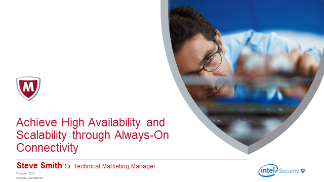 Achieve High Availability and Scalability through Always-On Connectivity
