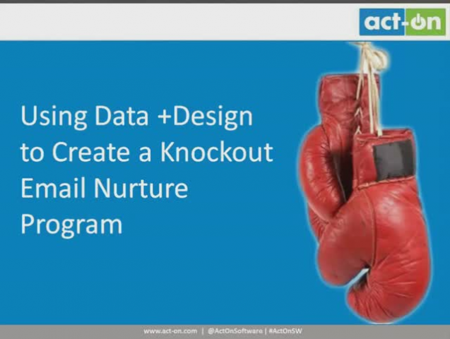 Using Data and Design to Create a Knockout Email Nurture Program