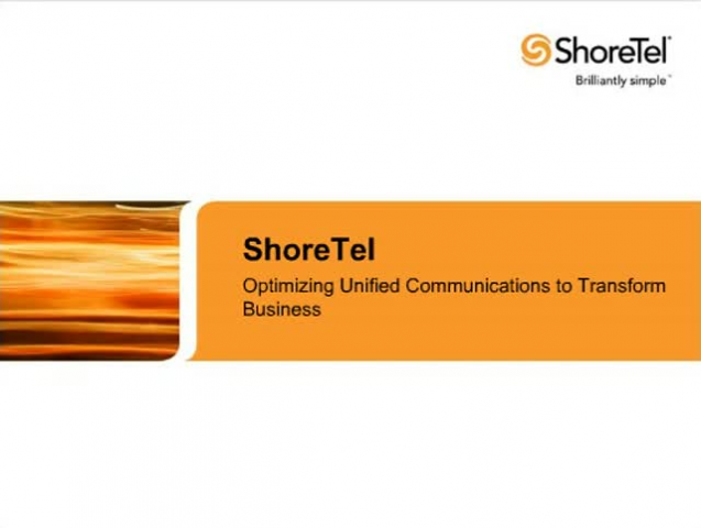 Optimizing Unified Communications to Transform Business