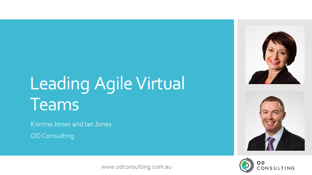 Leading Agile, Virtual ITSM Teams