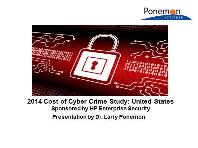 5th Annual Ponemon Cost of Cyber Crime Study Results: Americas