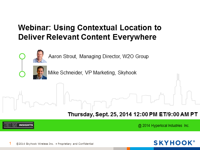 Using Contextual Location to Deliver Relevant Content Everywhere